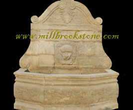 fountains hand carved antique limestone