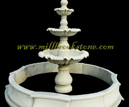 fountains hand carved limestone