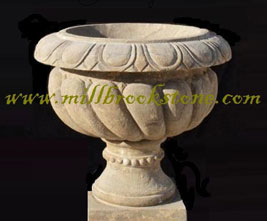 planters and urns hand carved antique limestone